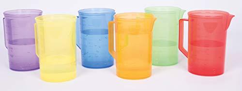 TickiT 73103 Conjunto de jarras de colores,...