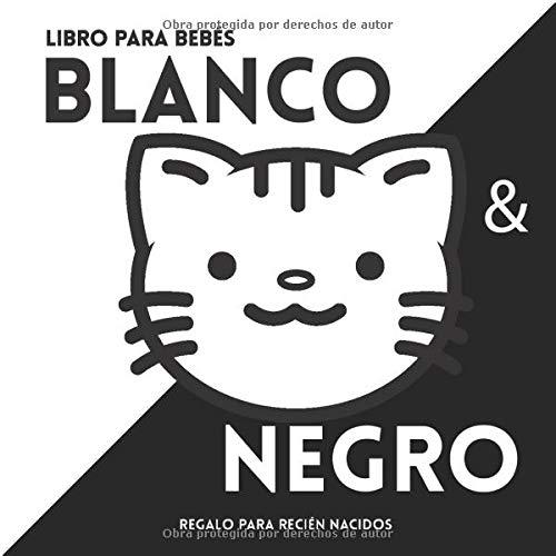 Libro para bebés en Blanco y negro. Regalo...