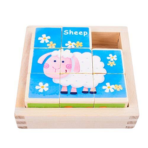 EKKONG Puzzles de Madera for Kids ,Animales...
