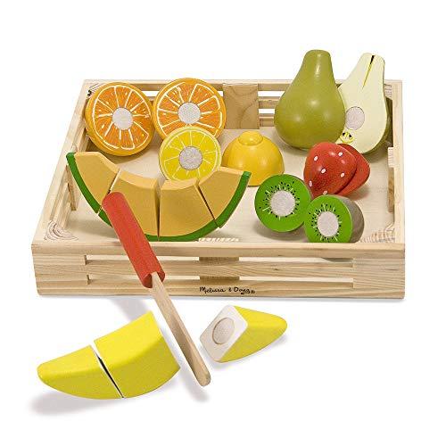 Melissa & Doug- Cutting Fruit Set Comida de...
