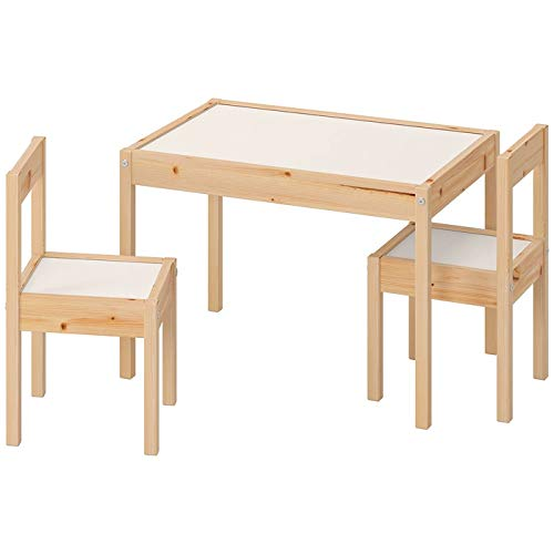 Ikea LATT-Mesa Infantil con 2 sillas, Color...