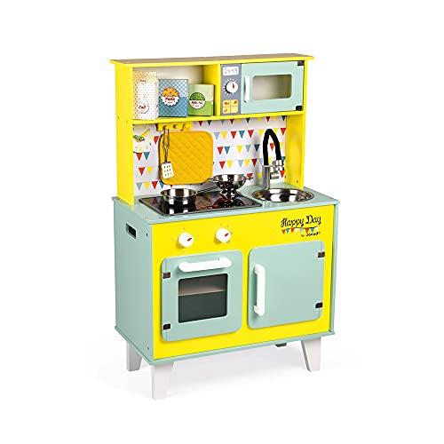 Janod- Happy Day Cocina para Niños, Color...