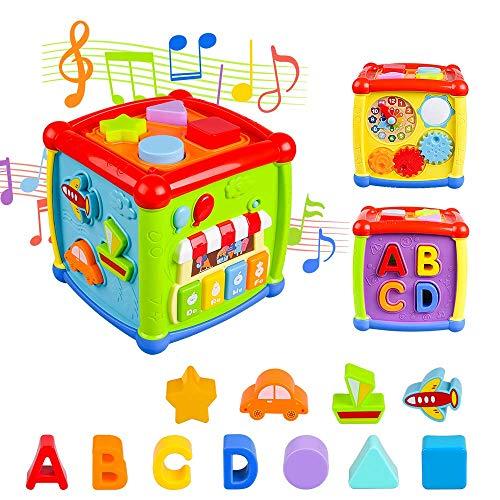 AiTuiTui Música Cubo de Actividades, 6 en 1...