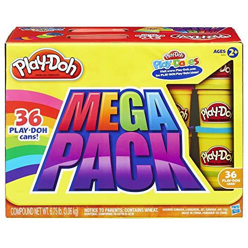 Play-Doh- Mega Pack De 36, Botes (Hasbro...