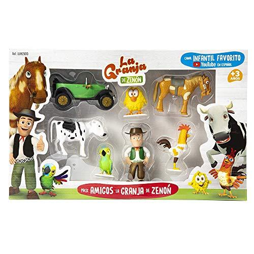 La Granja de Zenón - Pack de figuras Amigos...