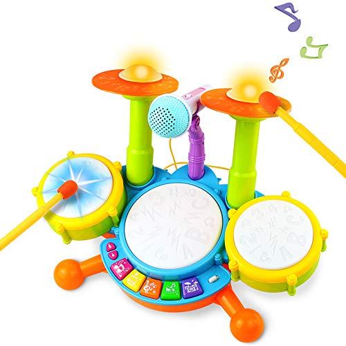 Tambor Infantil Instrumentos Musicales...
