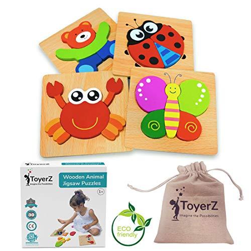 ToyerZ Juguetes de Madera Puzzles Educativos...