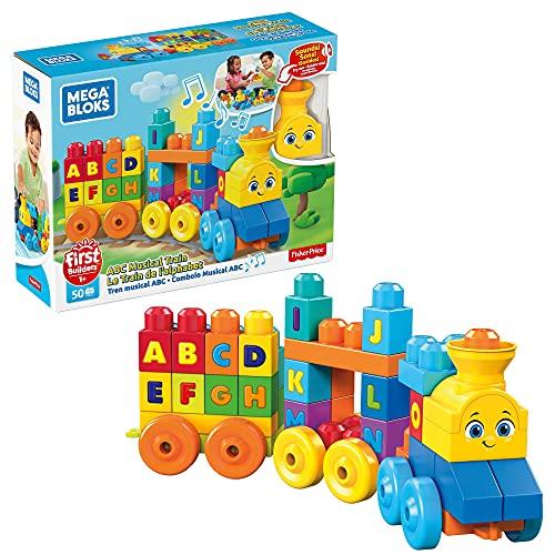 Mega Bloks Tren musical ABC, juguete de...