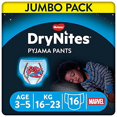 DryNites Calzoncillos absorbentes para Niño...