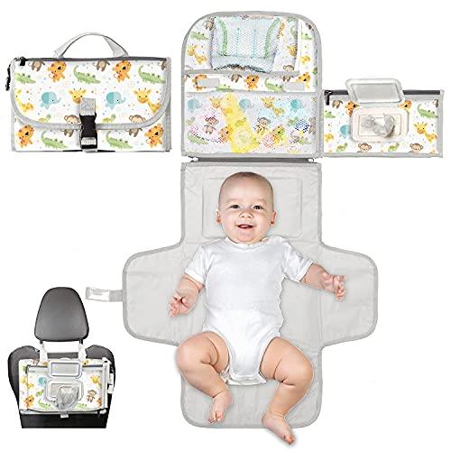 Cambiador bebé portátil XL-Cambiador...