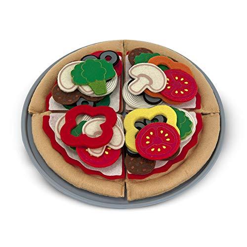 Melissa & Doug- Alimentos de Fieltro, Pizza...