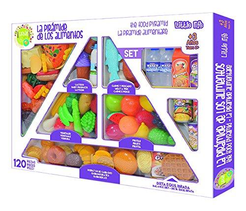 Tachan - Set de 120 piezas de pirámide...