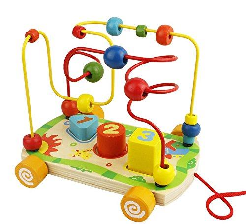 Juguetes Montessori de Madera Laberinto Abaco...