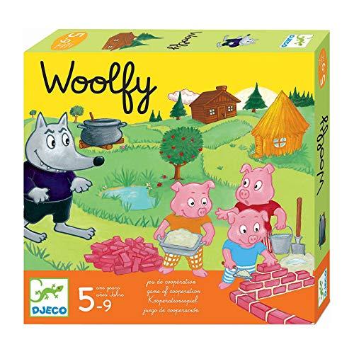 Djeco-DJ08427 Juegos Educativos Woolfy,...