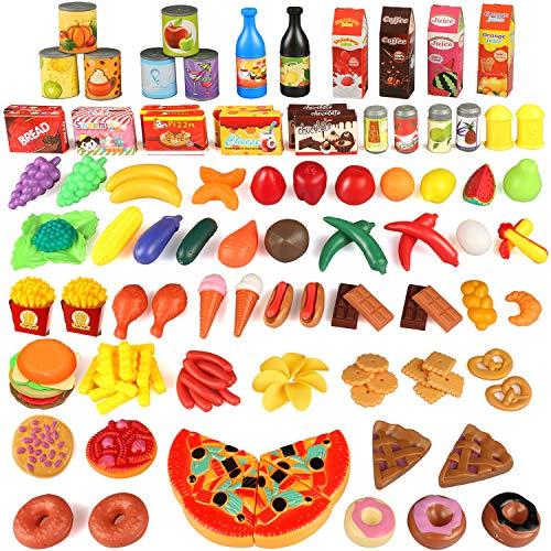 joylink 139pcs Alimentos Juguetes, Juguetes...