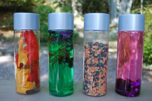 botella sensorial