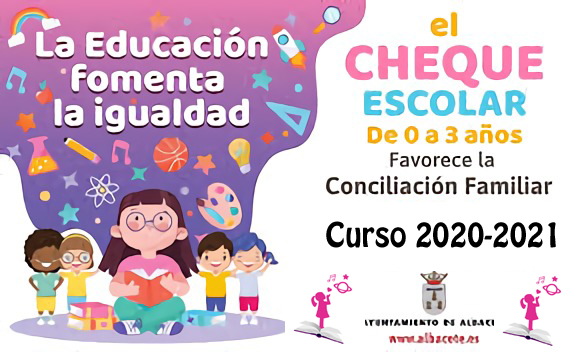 CHEQUE ESCOLAR ALBACETE 2020 2021