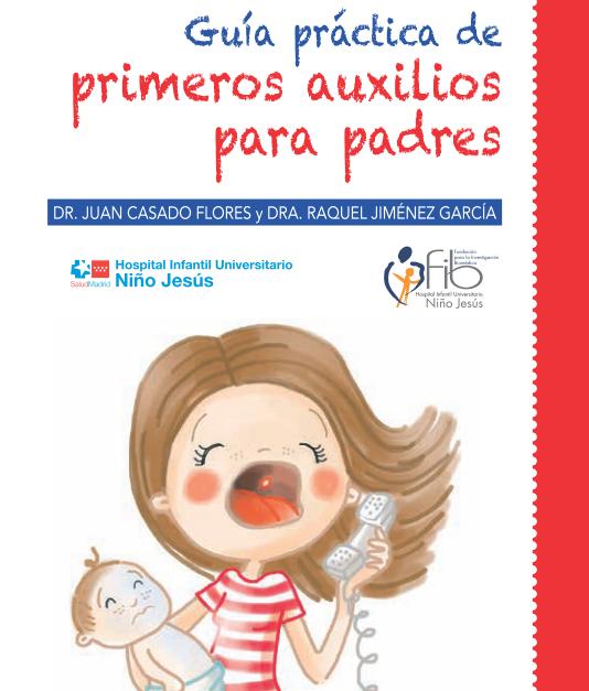 Guia primeros Auxilios pediatricos