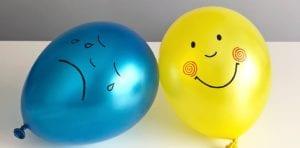 Los globos de las emociones