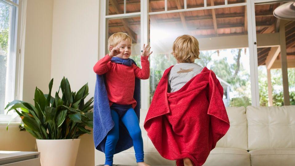 Desarrollo de la imaginación en niños y niñas