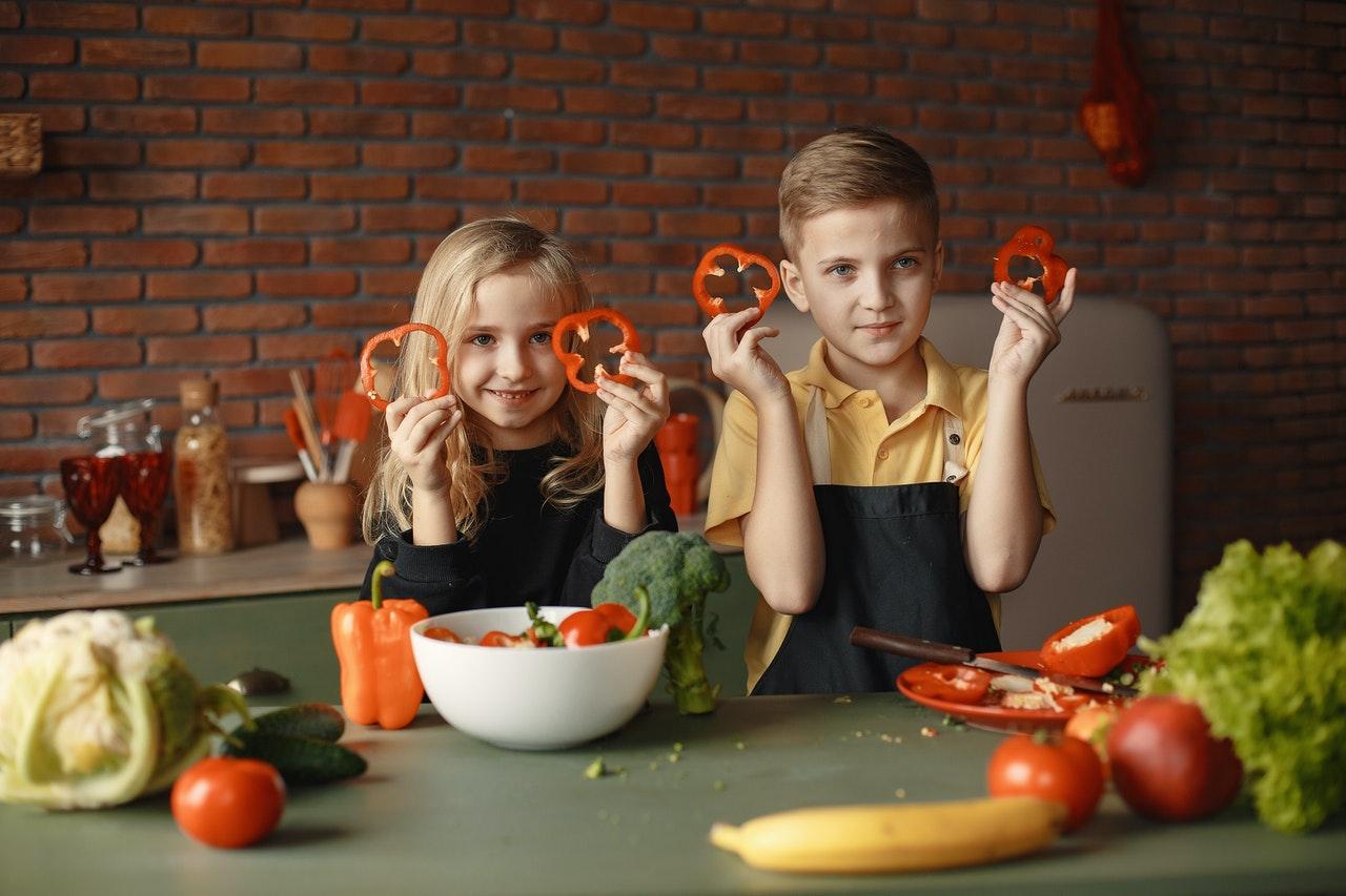 cocinando verduras
