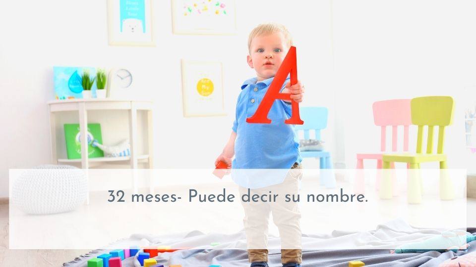 Desarrollo del lenguaje 32 meses
