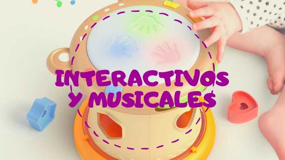 Juguetes interactivos musicales