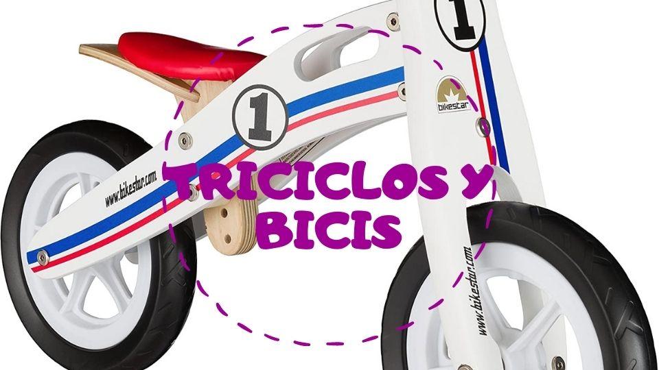 Triciclos y bicis para niños