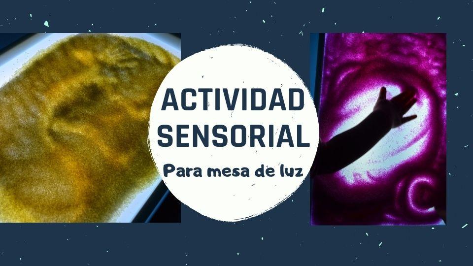 actividad sensorial