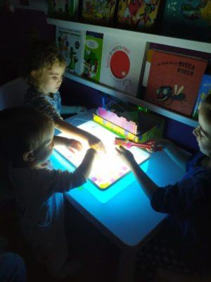 actividades para la mesa de luz