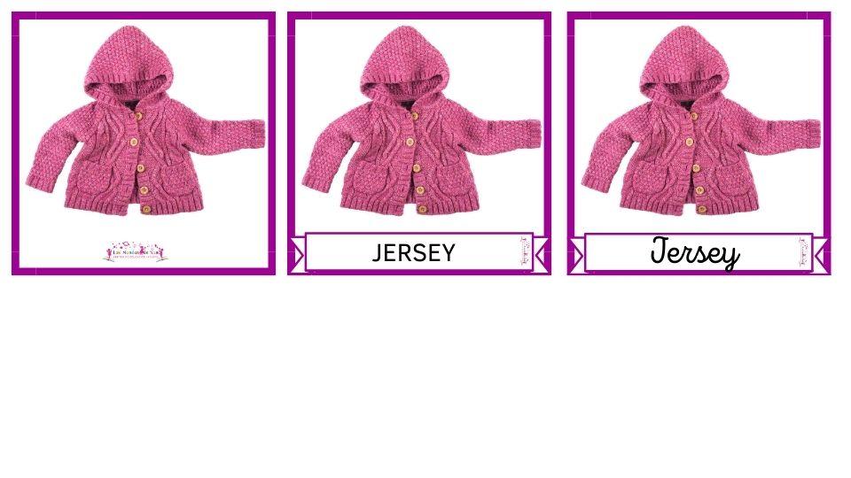 jersey rosa con nombre