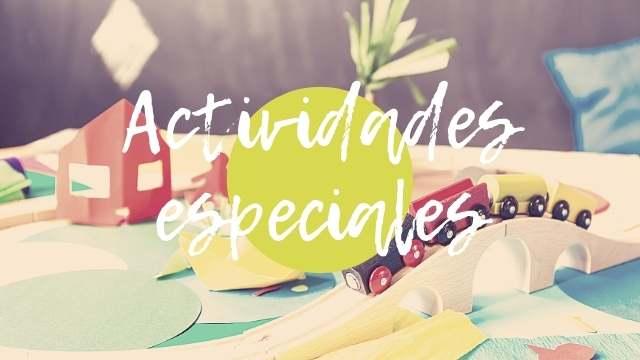 Actividades infantiles para días especiales