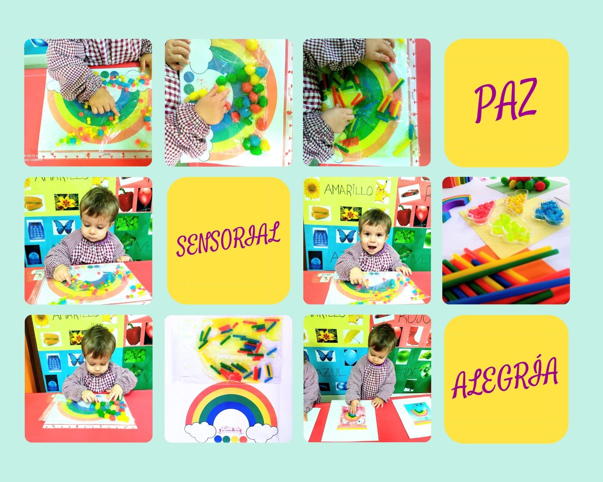 actividad infantil para el día de la paz