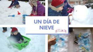 ¡A jugar con la nieve!