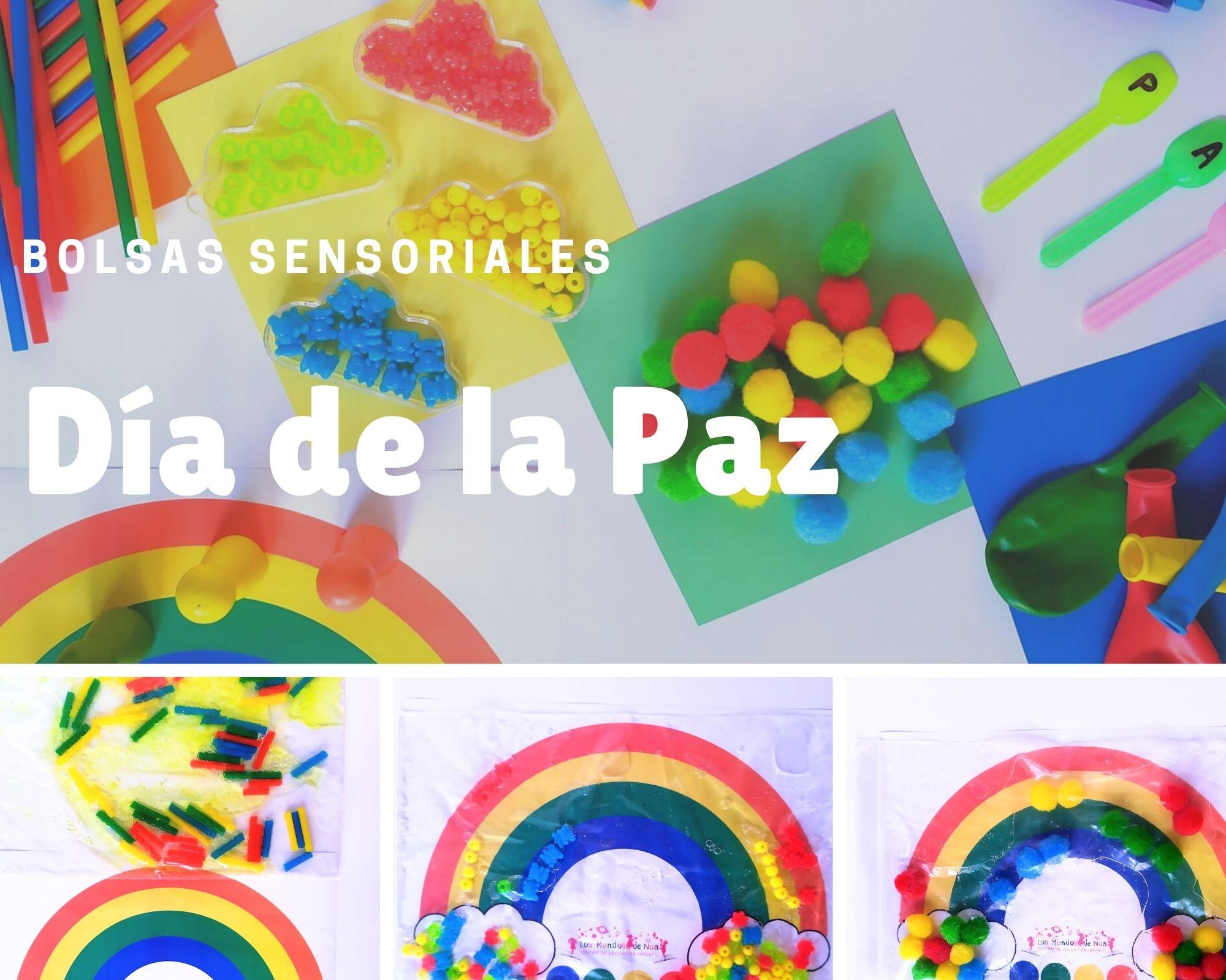 bolsa sensorial arcoiris