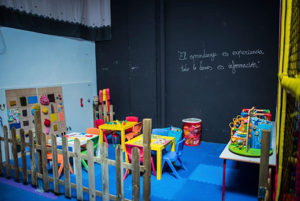 Aula en la guardería de Albacete los mundos de Noa