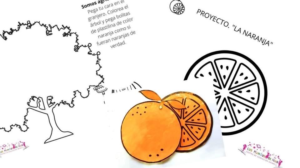 fichas para la naranja