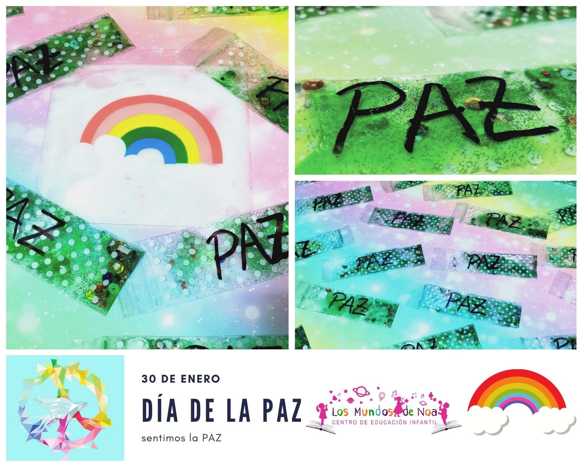 bolsas sensoriales día de la paz