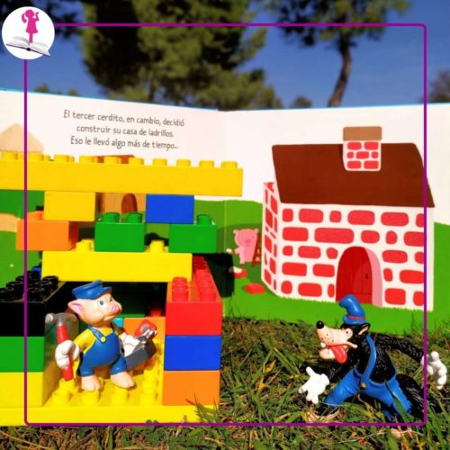 Construcciones de lego para cuentos