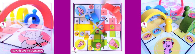 los tres cerditos juego cooperativo