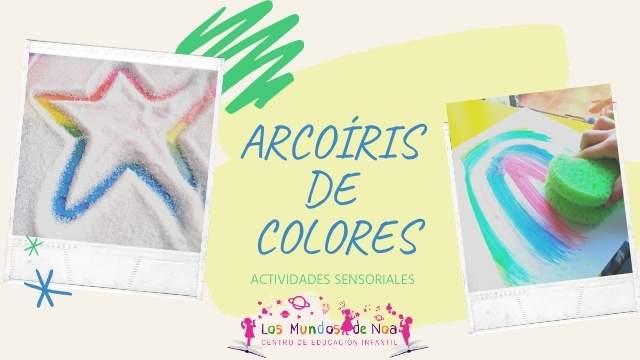 Actividades de arcoíris para niños