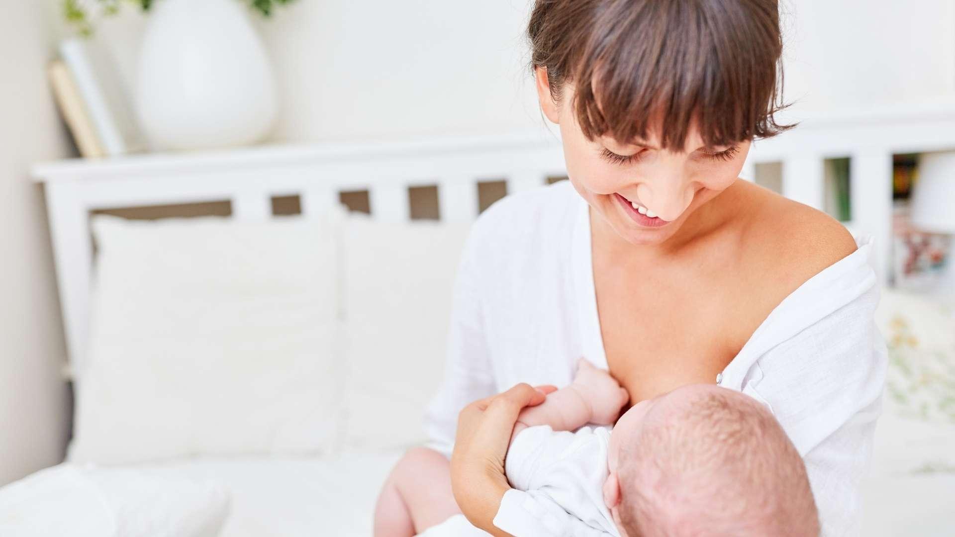 como fabricar leche materna