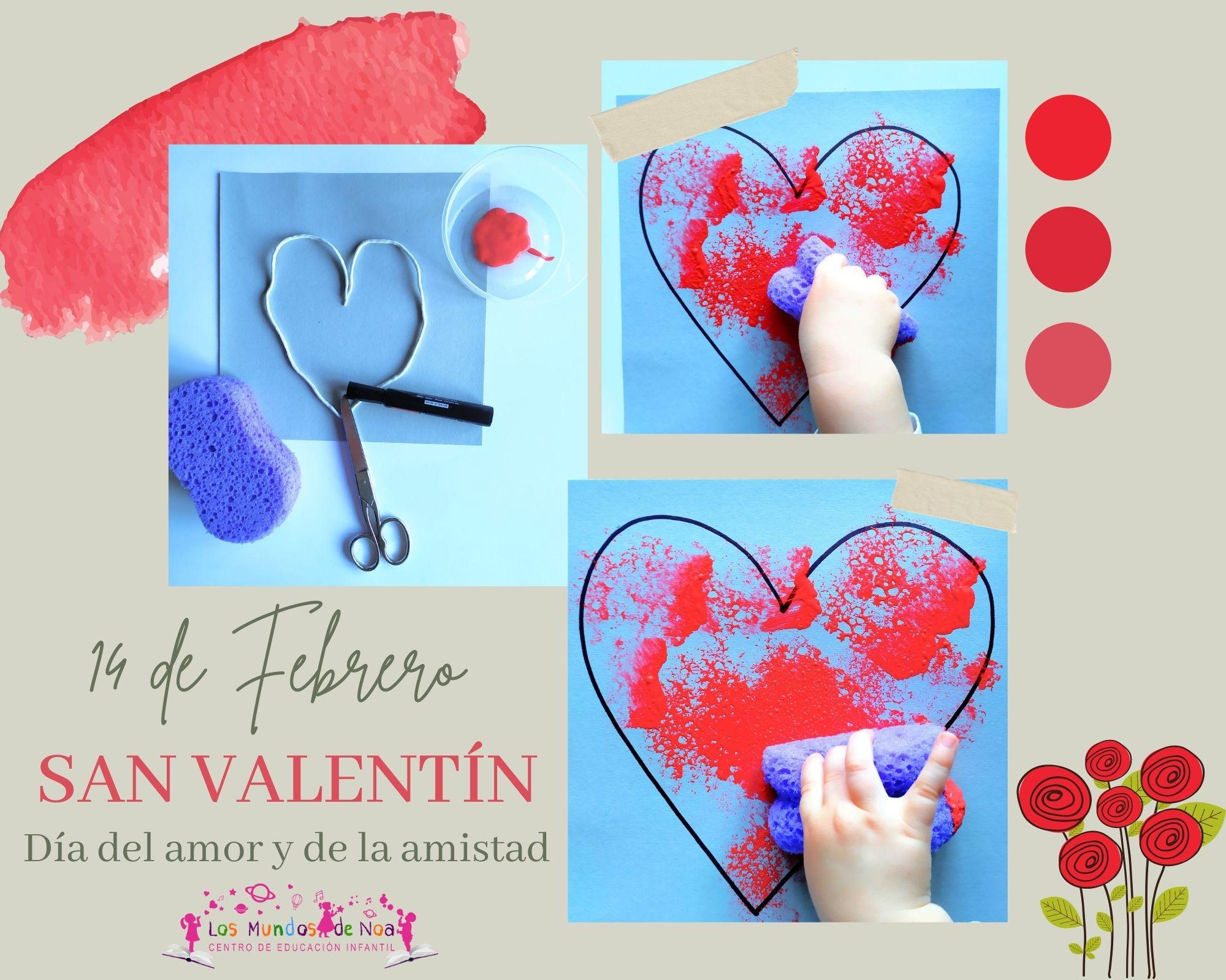 Manualidad San Valentin infantil