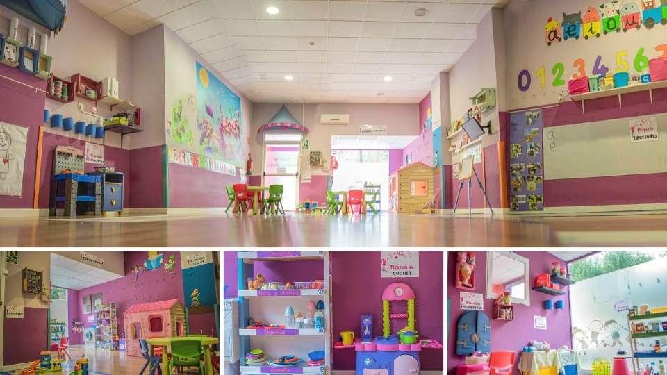 Aula infantil en Albacete