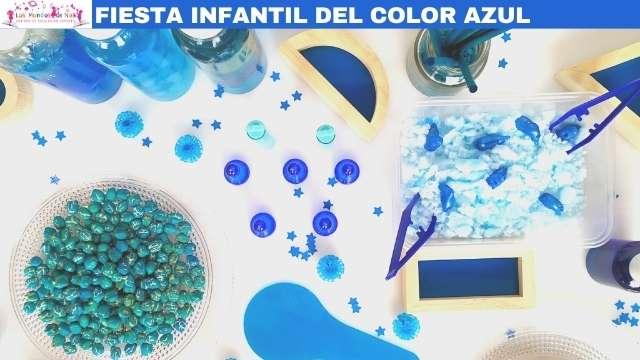 piezas sueltas color azul