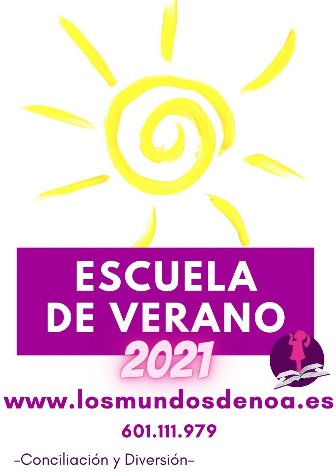 Cartel Escuela de Verano Albacete