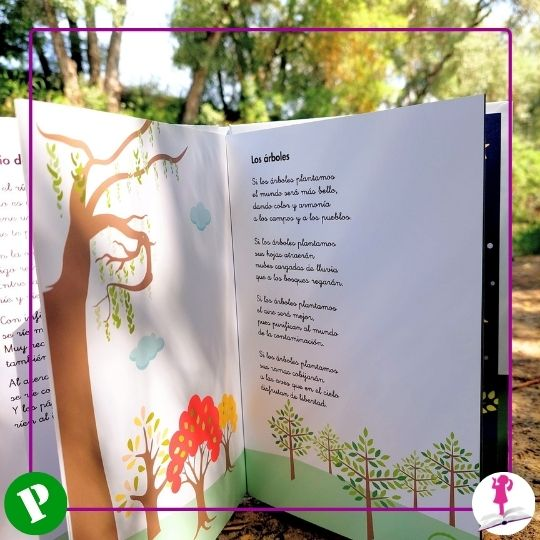 Poesía infantil de los árboles