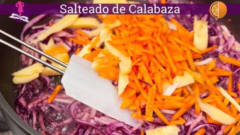 Salteado de Calabaza